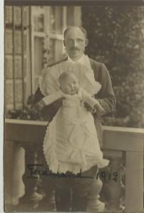 Joseph Arco mit Sohn Ferdinand